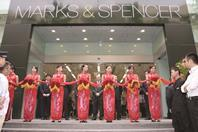 Marks & Spencer already operates stores in China and plans to expand further internationally.