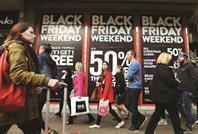 What can retailers learn from Black Friday 2014's supply chain woes, and how can they better prepare for future seasonal surges?
