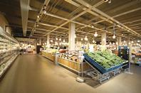 Dutch food retailer Albert Heijn XL's new supermarket has used clever design to affordably create a unique in-store experience.