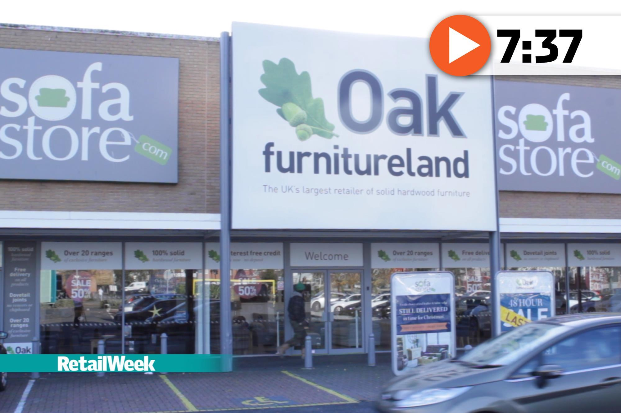 Watch Oak Furniture Land boss on a fast paced future