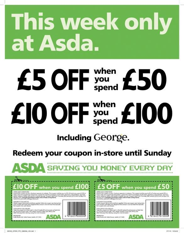 Asda Direct has merged with George. Shop for dresses and shoes, swimwear, maternity clothes and lingerie. Buy garden furniture and save with top cashback and discount codes.