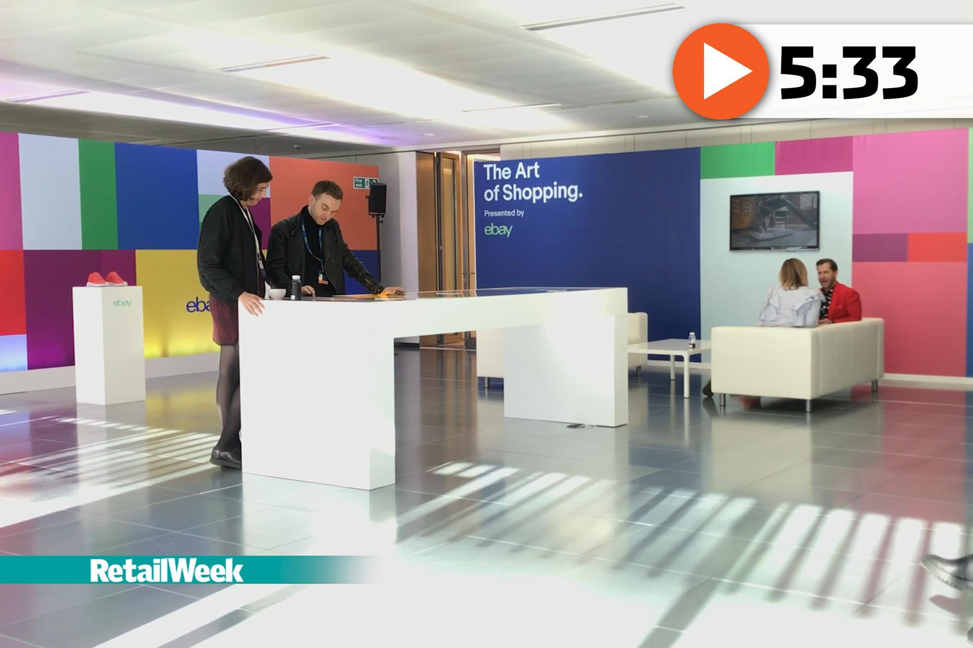 ebay head office. watch ebay showcases subconscious shopping experience video retail week ebay head office