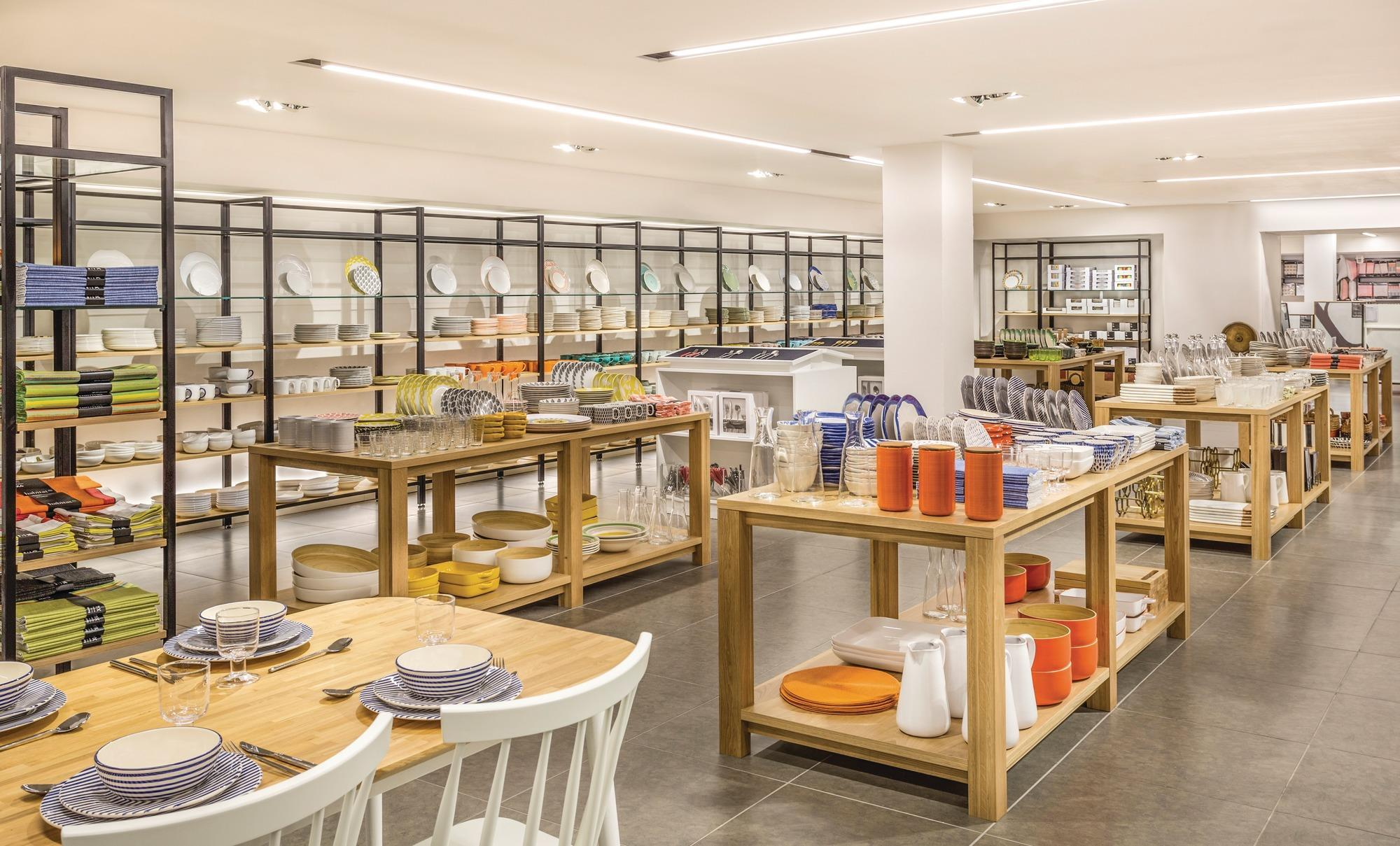 Store Gallery Habitat 39 S New Look Flagship Sets The
