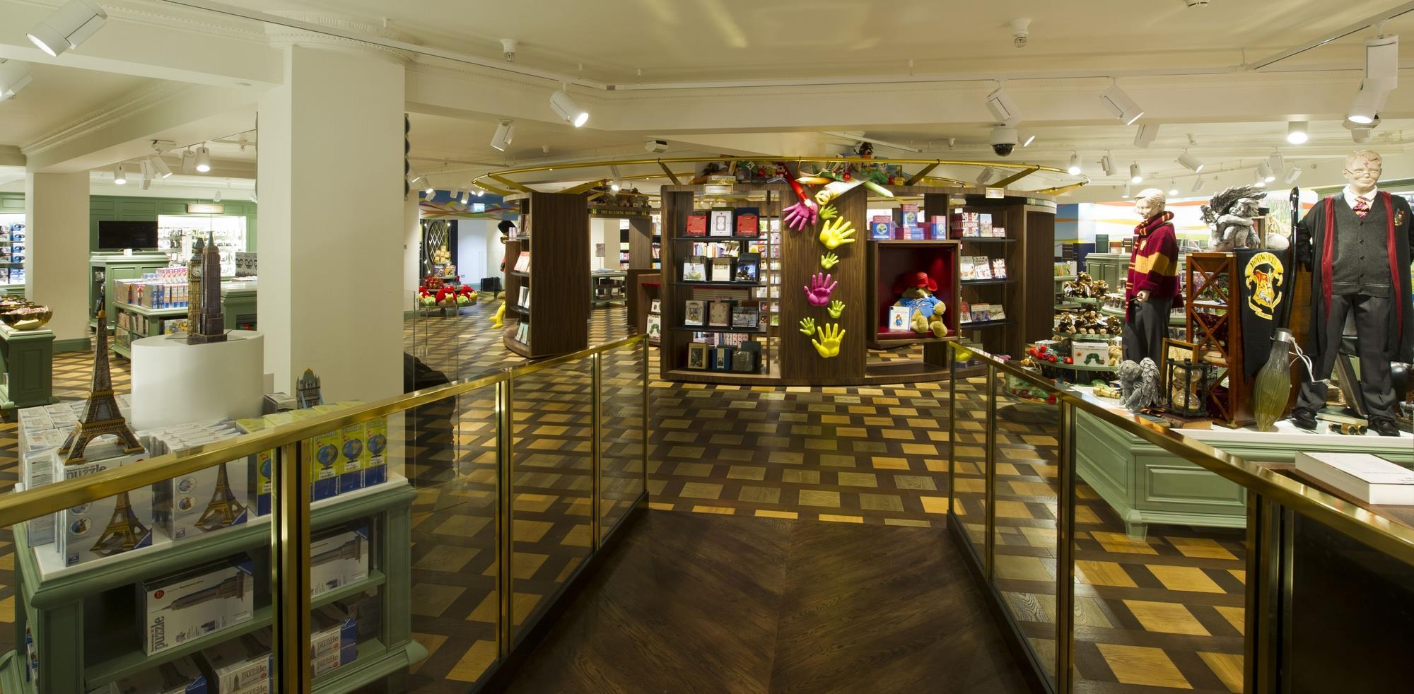 Harrods opens doors to its new toy kingdom news retail for Door 4 harrods