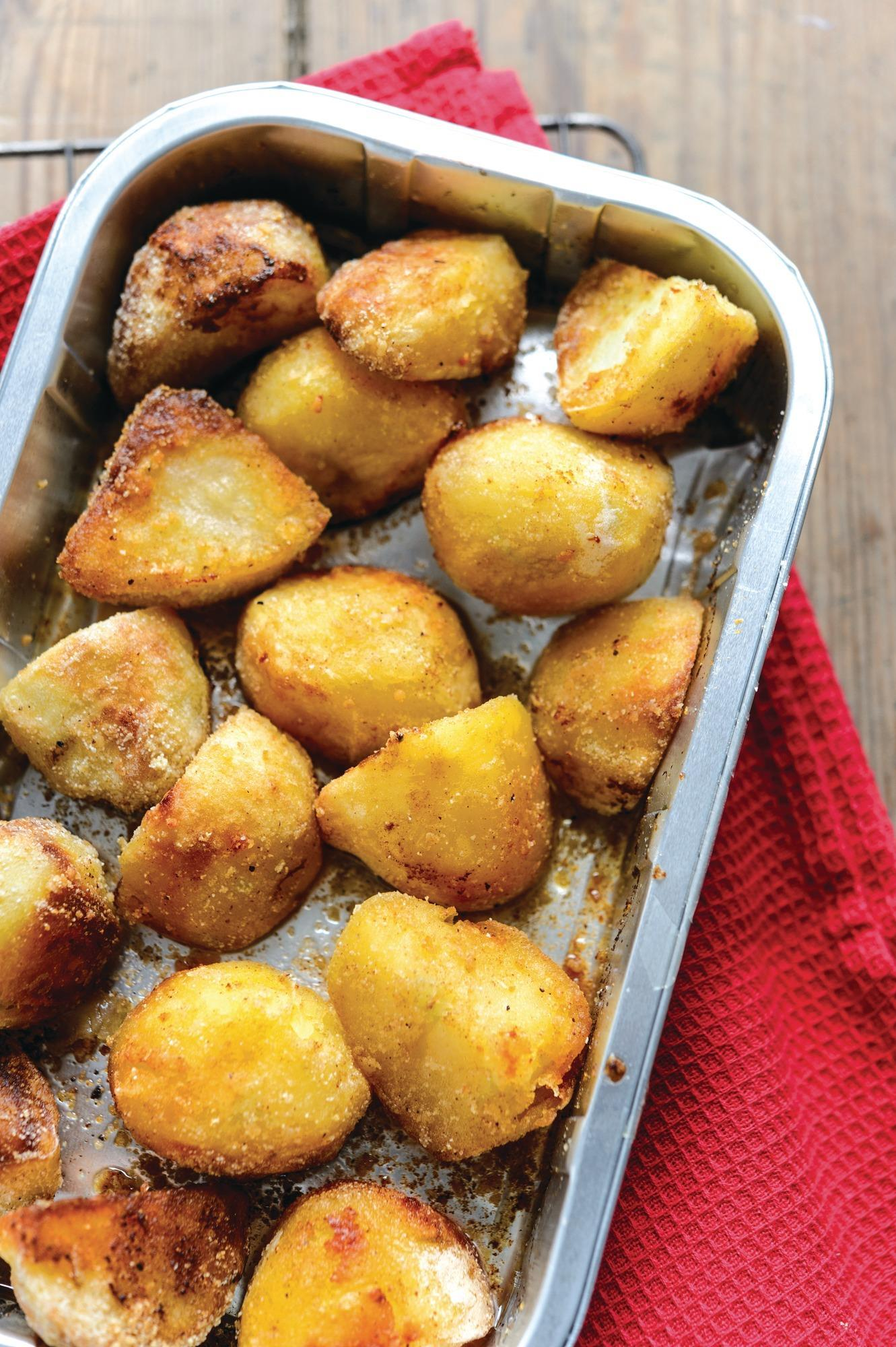 Morrisons Goose Fat Roast Potatoes Pound