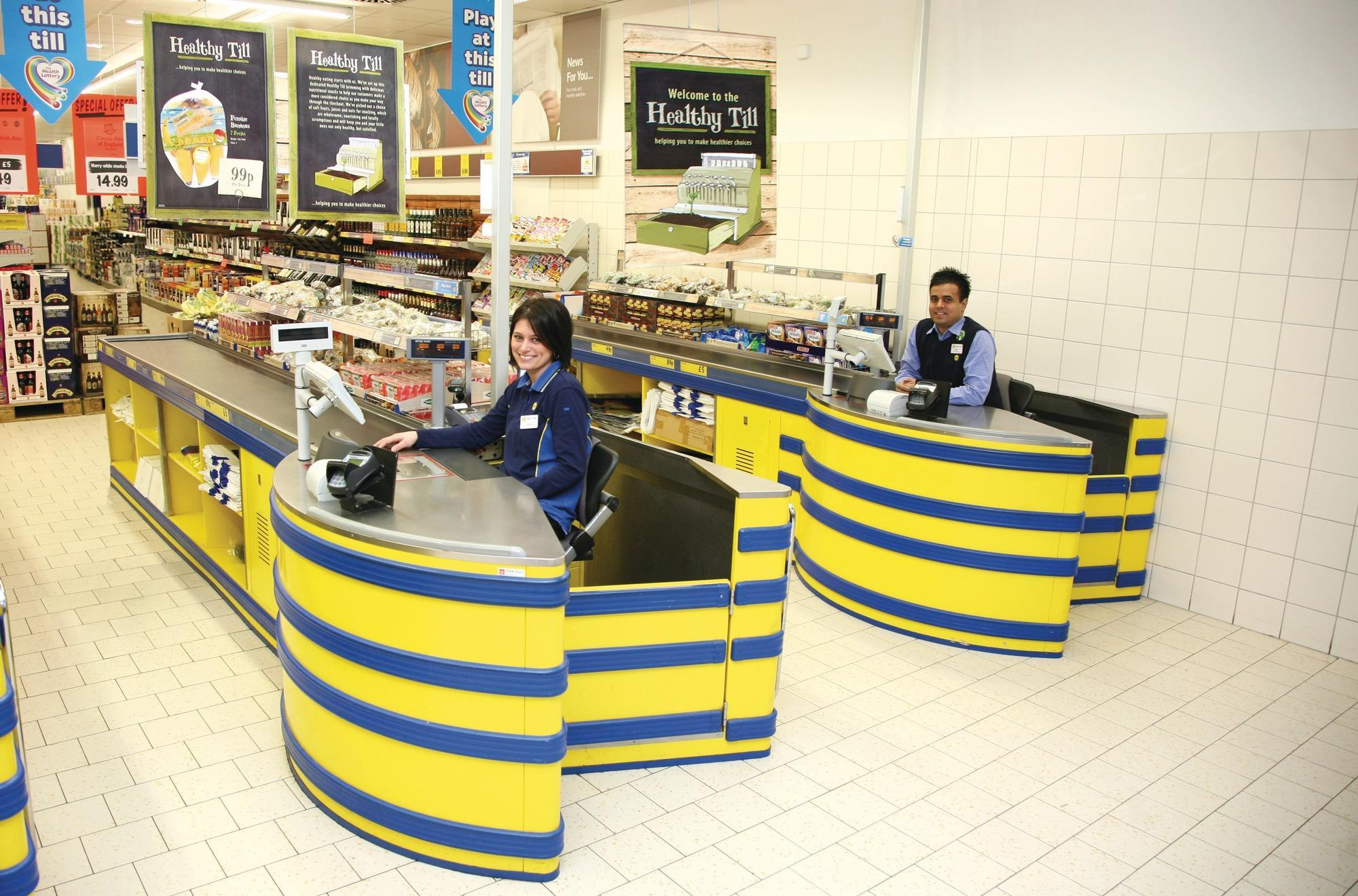 Sainsbury's employee uniform