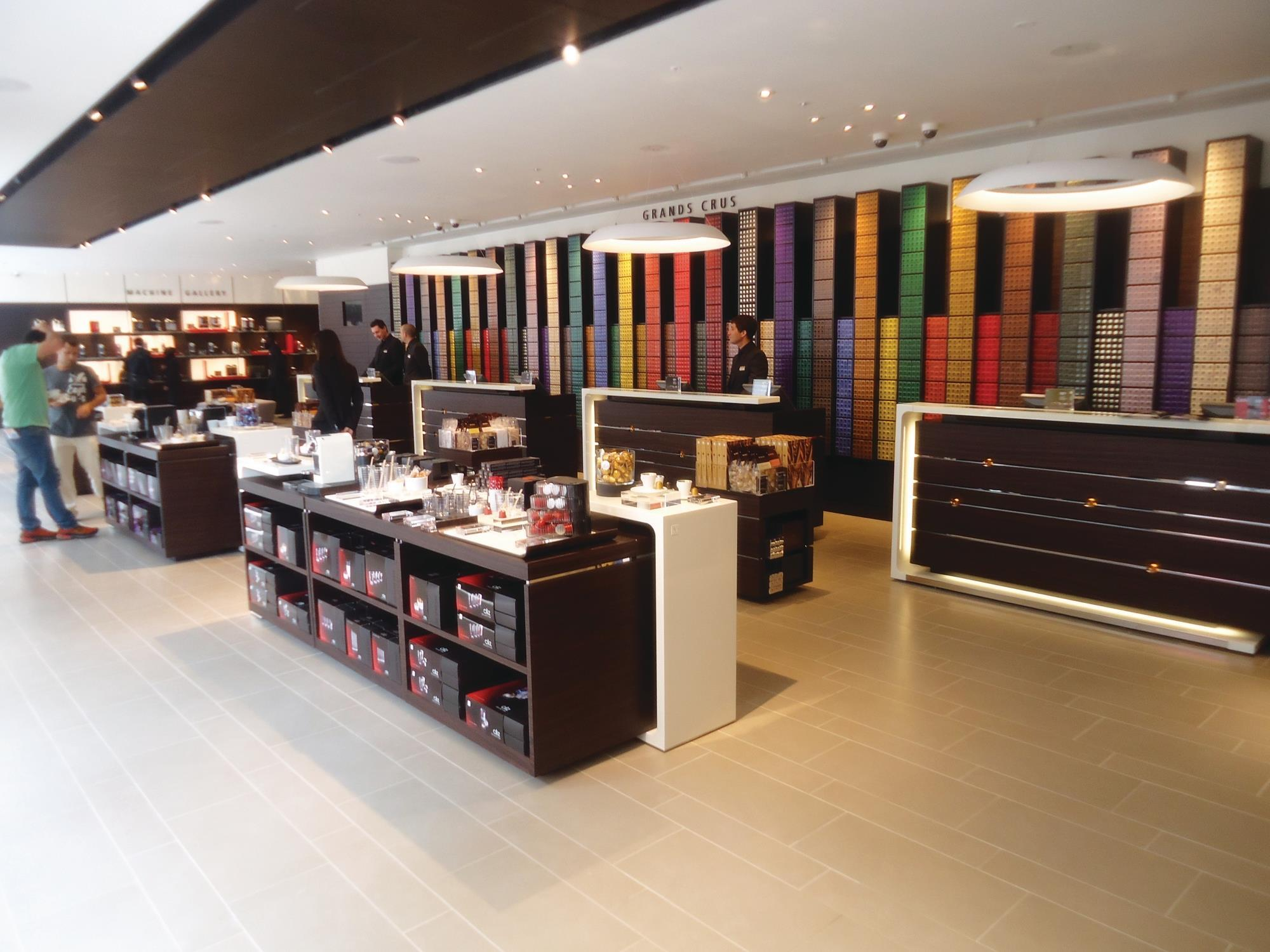Store gallery Nespresso London flagship opens Store gallery Retail Week -> Nespresso London