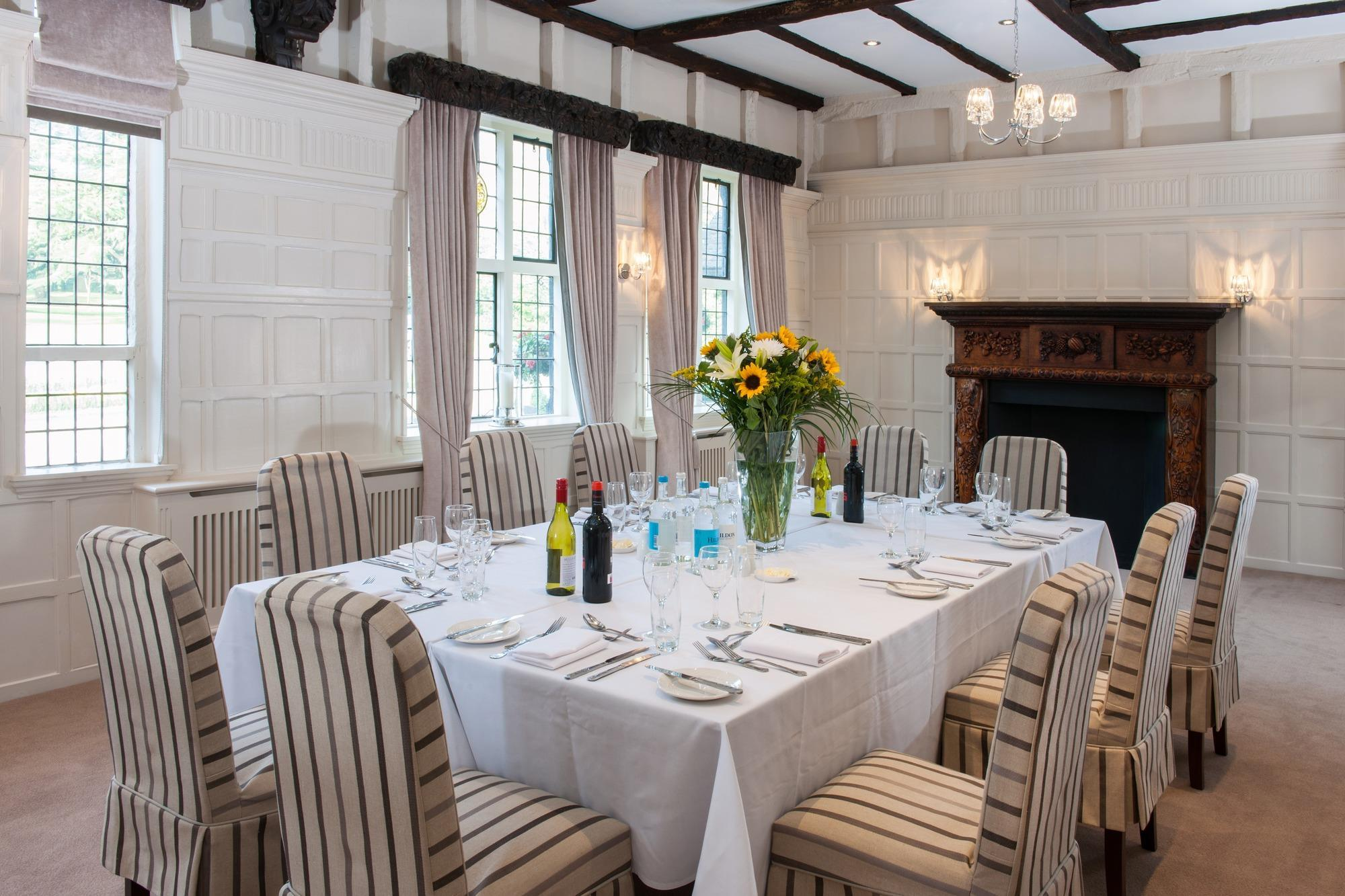 Laura Ashley/ Love the cozy sitting area in the dining ...