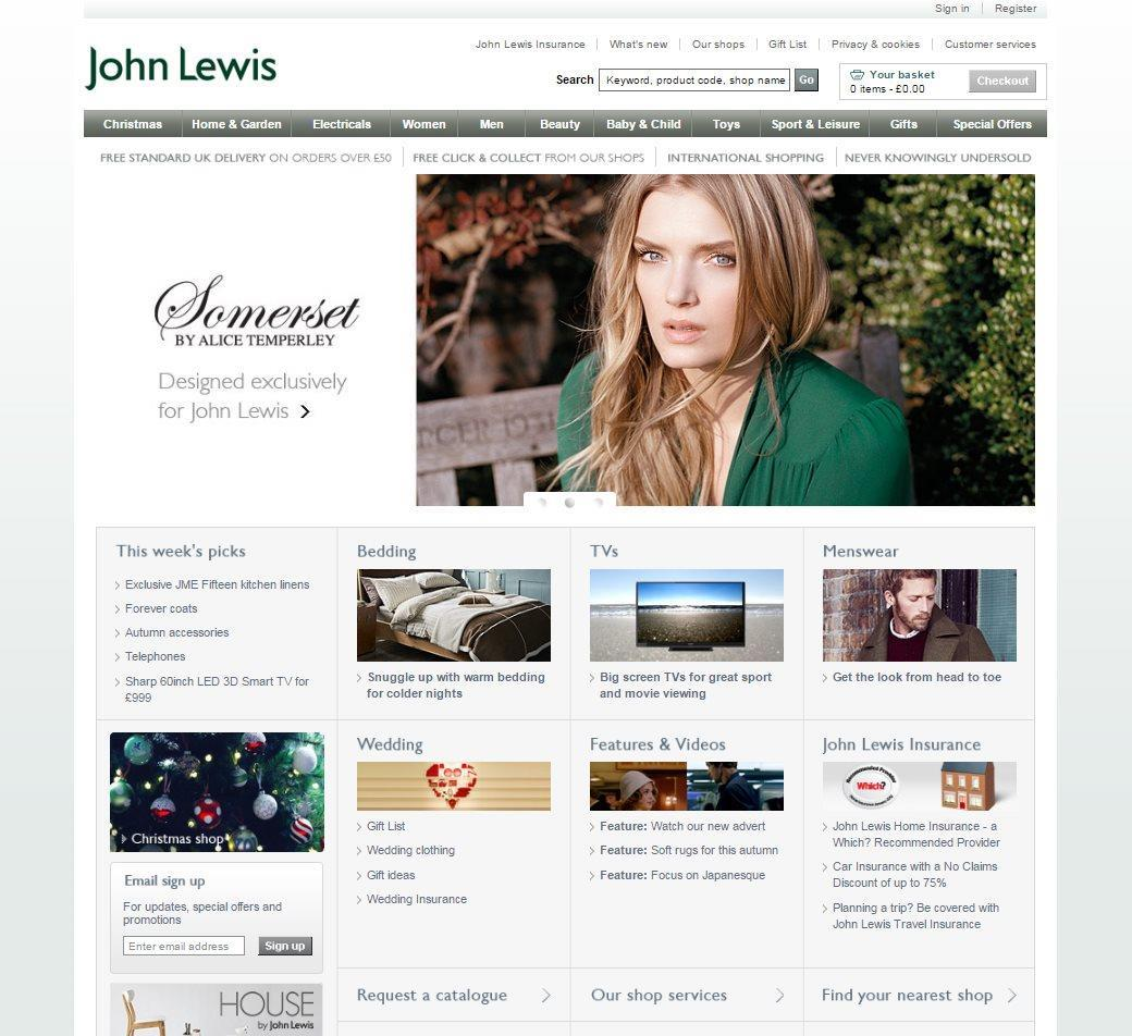 John Lewis' website through the years – Retail Week's ...
