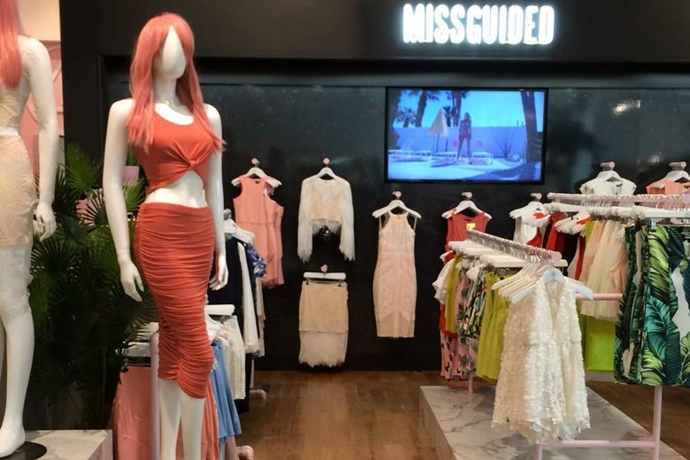 Missguided clothing store locations
