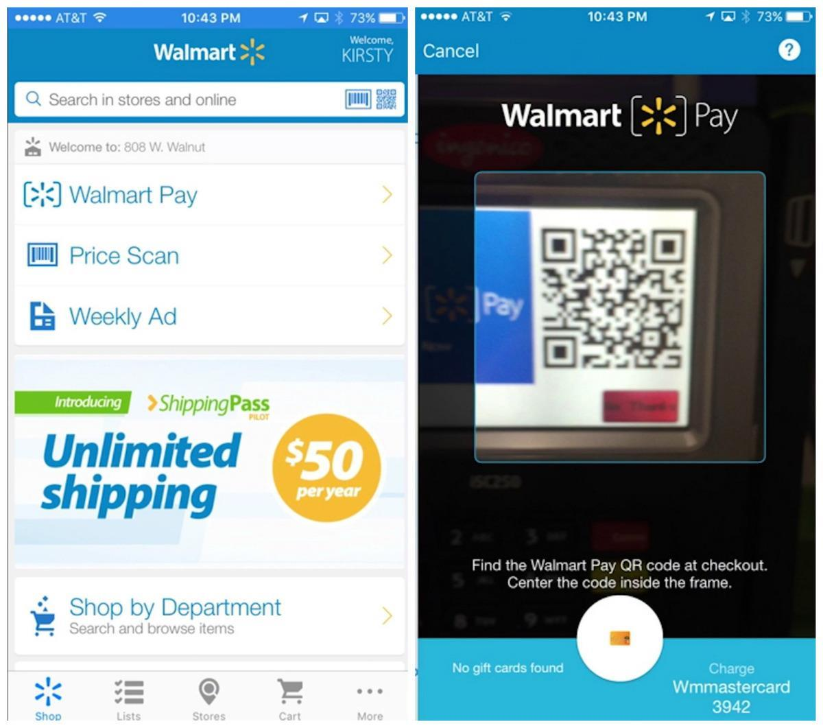 Walmart launches its own mobile payment service after shunning Apple Pay