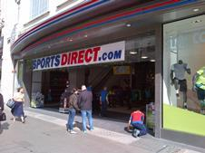 Sports Direct Oxford Street exterior