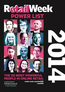 Retail Week Etail Power List 2014