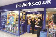 The Works has been put up for sale by private equity owner Endless as its turnaround strategy bears fruit.