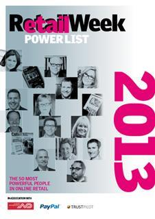 Retail Week Etail Power List 2013