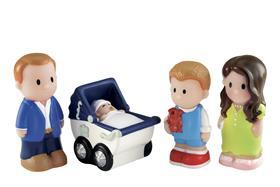 Mothercare has launched a raft of products to celebrate the birth of the new Princess, including this toy set of the happy family.