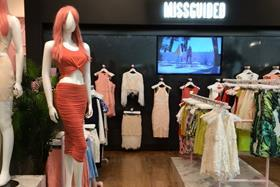 Missguided opened its first UK concession in Selfridges Manchester last year