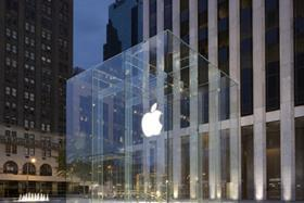 Apple's cube shop on Fifth Avenue in New York