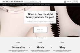 The online marketplace gives personalised product recommendations to its users.