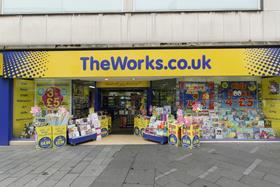 The Works' new fascia