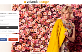 Zalando said the website will offer shoppers discounts of up to 75%