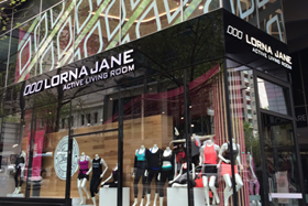 Lorna Jane has moved into the UK market with a store in London