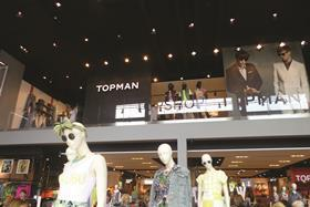 Topman is giving customers the chance to win their shopping today