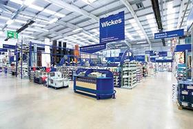 "Wickes owner Travis Perkins has posted a jump in first quarter retail sales as improvements in range drove ""encouraging"" trading momentum."