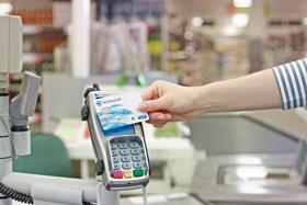 Shoppers will be able to make bigger purchases using contactless payment cards from today after the limit was raised from £20 to £30.
