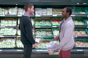 Tesco launched its Basket Dating experiment in a bid to help shoppers find love ahead of Valentine's Day.