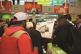 Black Friday has gained popularity among shoppers in the UK