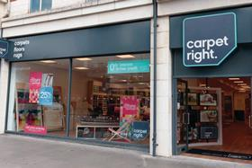"Carpetright introduced a new ""contemporary"" logo and new store format"