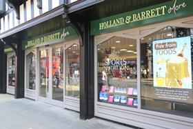 The first of Holland & Barrett's new concept stores, opening today in Chester