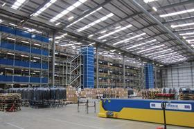 Asos has opened  a new warehouse since the Buncefield explosion