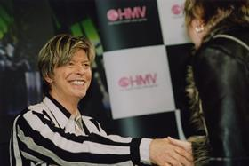 David Bowie signing at hmv 150 Oxford Street  London  2002 5330495574 o
