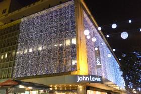 John Lewis said customers preferred to shop through its website