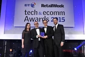 Booths won the IT Team of the Year Award