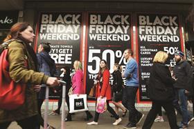 Retailers need to be prepared for peaks such as Black Friday