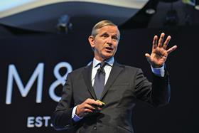 M&S Chief Executive Marc Bolland pictured at the M&S AGM