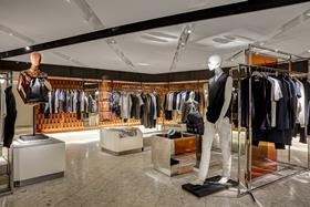 An extra 4,000 sq ft has been added to menswear