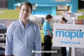 Maplin's first ever TV ad launches on Sunday