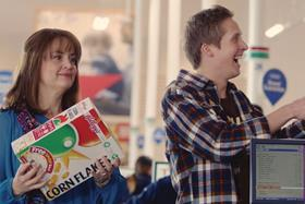 Tesco's latest campaign is a nod to its past