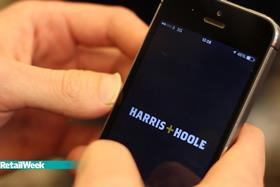 Harris and Hoole's app for faster service