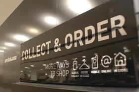 Services such as click-and-collect are growing in popularity