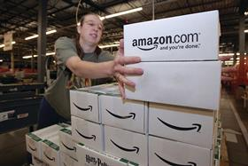Amazon will create new roles in its fulfilment centres across the UK and Europe.