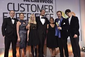 The Retail Week Award for Outstanding Customer Experience Naked Wines Customer Happiness Team