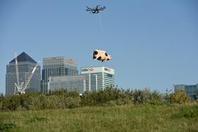 Orchard Pig is trialling pig delivery drones as it puts a playful spin on Amazon and Walmart's fulfilment innovations.