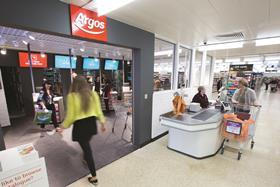 Home Retail Group's third largest shareholder Old Mutual has backed the £1.3bn takeover bid from supermarket giant Sainsbury's.