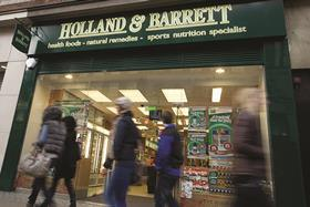Holland and Barrett speciality
