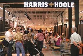 Tesco-backed coffee chain Harris + Hoole suffered a doubling of its pre-tax profits last year as it invested in its store expansion.